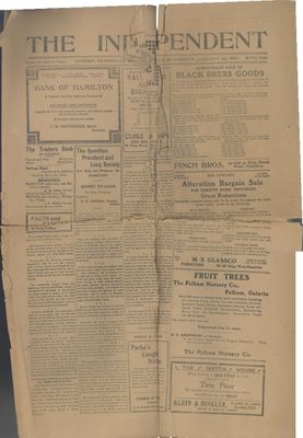 Grimsby Independent, 22 Jan 1908