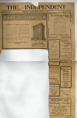 Grimsby Independent, 8 Jun 1910