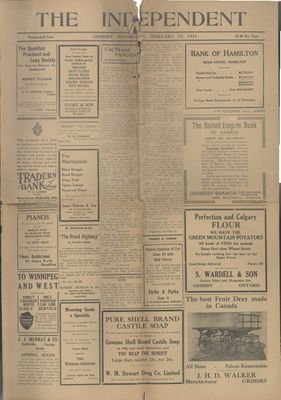 Grimsby Independent, 15 Feb 1911