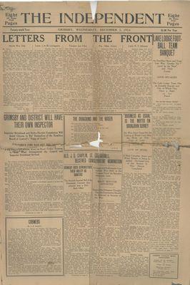 Grimsby Independent, 2 Dec 1914