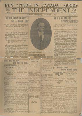 Grimsby Independent, 9 Dec 1914