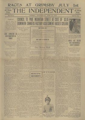 Grimsby Independent, 16 Jun 1915