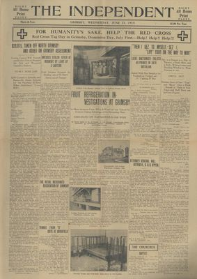Grimsby Independent, 23 Jun 1915