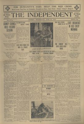 Grimsby Independent, 30 Jun 1915