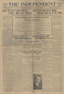 Grimsby Independent, 7 Jul 1915