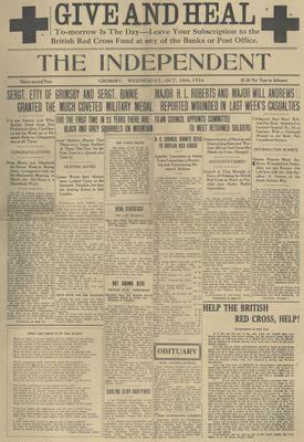 Grimsby Independent, 18 Oct 1916