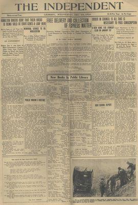 Grimsby Independent, 6 Dec 1916