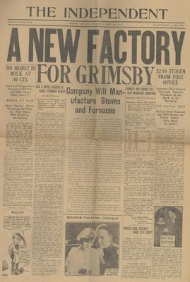 Grimsby Independent, 24 Sep 1919