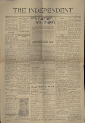 Grimsby Independent, 30 Mar 1921