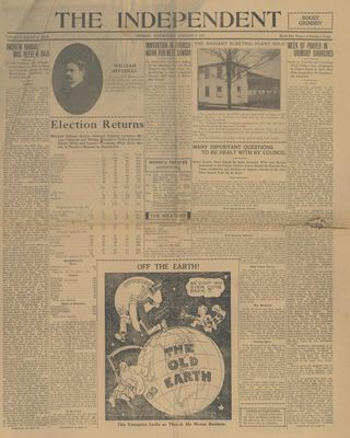 Grimsby Independent, 3 Jan 1923