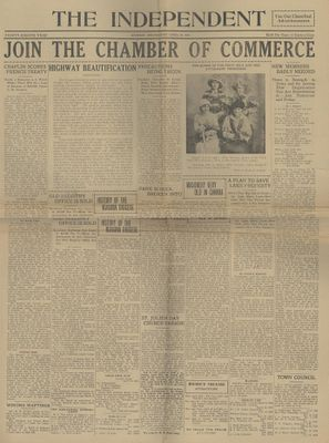 Grimsby Independent, 25 Apr 1923