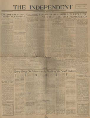 Grimsby Independent, 19 Mar 1924