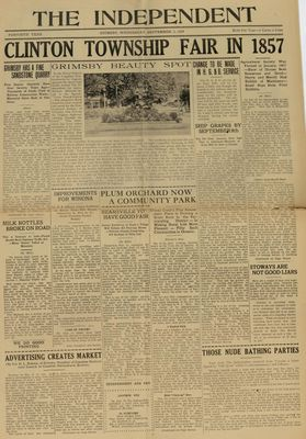 Grimsby Independent, 3 Sep 1924