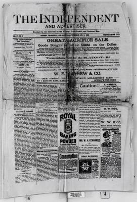 Grimsby Independent, 2 Aug 1888