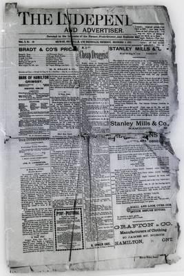 Grimsby Independent, 5 Dec 1895