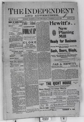 Grimsby Independent, 8 Jun 1899