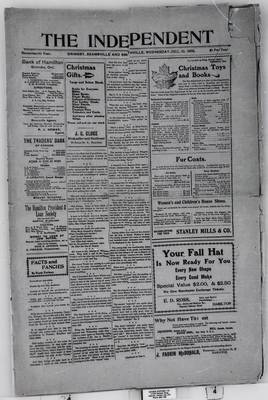 Grimsby Independent, 10 Dec 1902