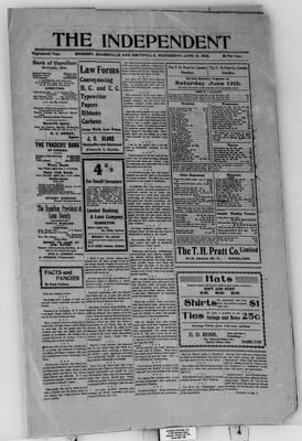 Grimsby Independent, 10 Jun 1903