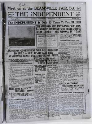 Grimsby Independent, 24 Sep 1913
