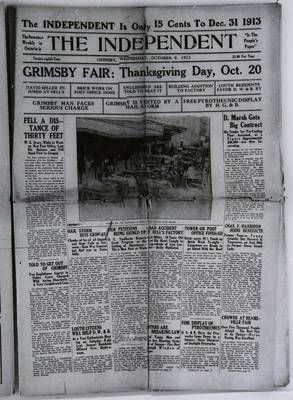 Grimsby Independent, 8 Oct 1913