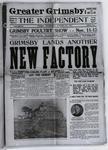 Grimsby Independent, 29 Oct 1913
