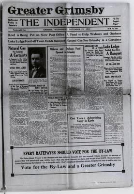 Grimsby Independent, 19 Nov 1913