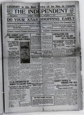 Grimsby Independent, 3 Dec 1913