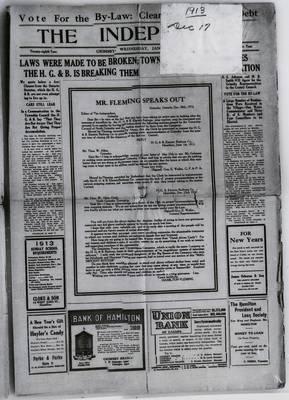 Grimsby Independent, 17 Dec 1913