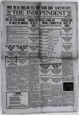 Grimsby Independent, 8 Jul 1914
