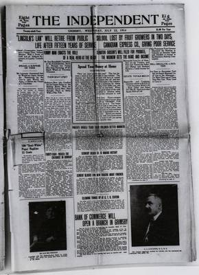 Grimsby Independent, 22 Jul 1914