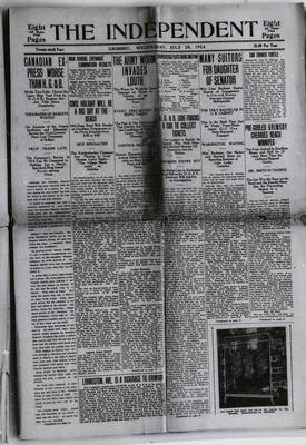 Grimsby Independent, 29 Jul 1914