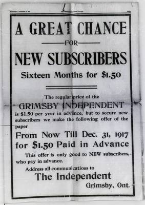 Grimsby Independent, 27 Sep 1916