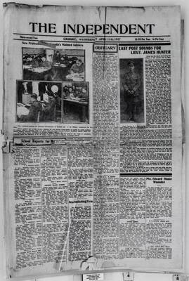 Grimsby Independent, 11 Apr 1917