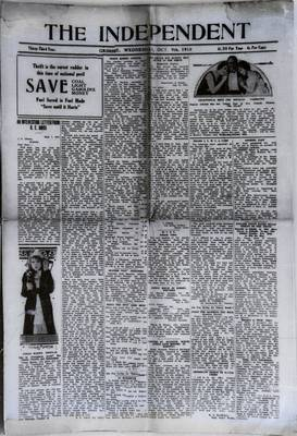 Grimsby Independent, 9 Oct 1918