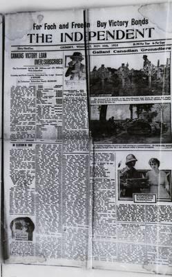 Grimsby Independent, 20 Nov 1918