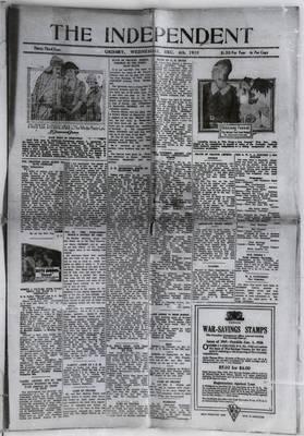 Grimsby Independent, 4 Dec 1918