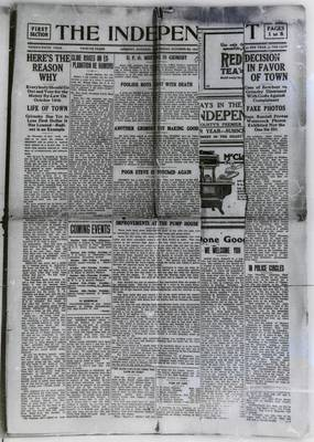 Grimsby Independent, 8 Oct 1919