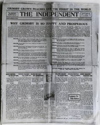 Grimsby Independent, 23 Aug 1922