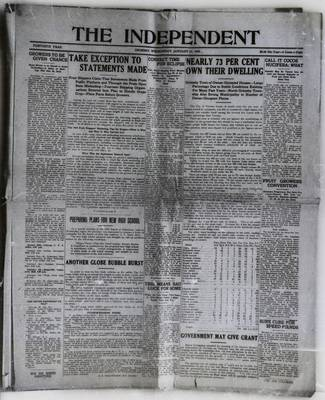 Grimsby Independent, 21 Jan 1925