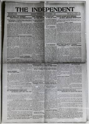 Grimsby Independent, 2 Sep 1925