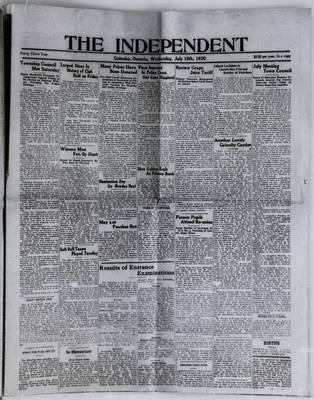Grimsby Independent, 16 Jul 1930