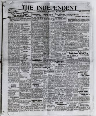 Grimsby Independent, 5 Nov 1930