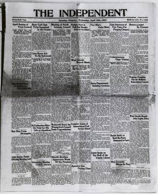 Grimsby Independent, 15 Apr 1931