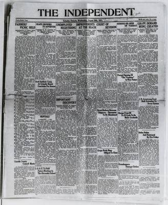 Grimsby Independent, 26 Aug 1931