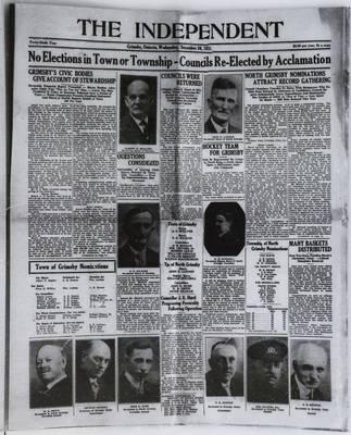 Grimsby Independent, 30 Dec 1931