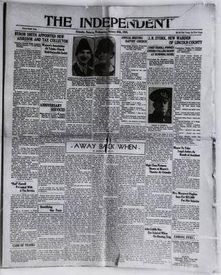 Grimsby Independent, 24 Jan 1934