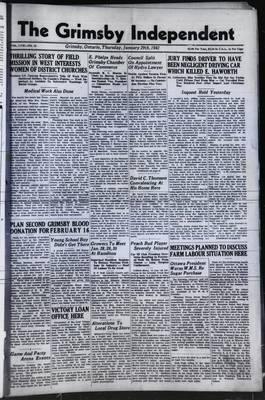 Grimsby Independent, 29 Jan 1942