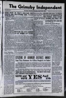 Grimsby Independent, 16 Apr 1942