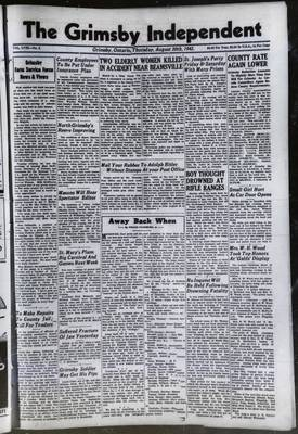 Grimsby Independent, 20 Aug 1942