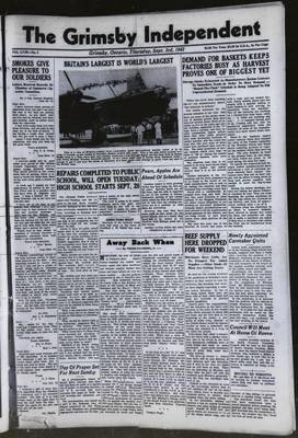 Grimsby Independent, 3 Sep 1942